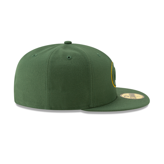 GREEN BAY PACKERS NFL LOGO ELEMENTS 59FIFTY FITTED Right side view