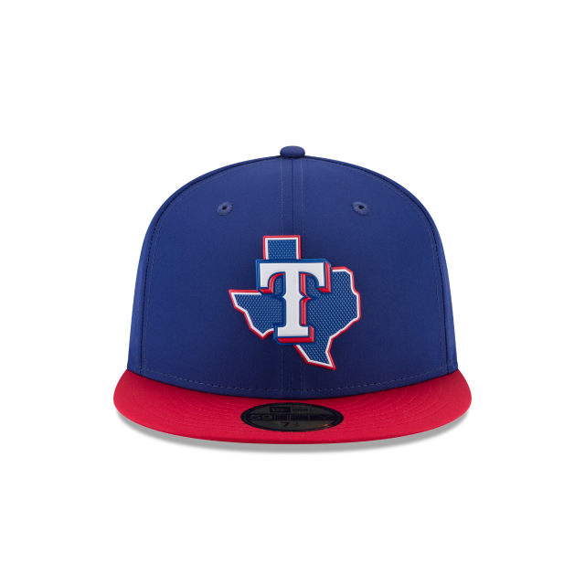 competitive price e2d6c d7235 ... spain kids texas rangers batting practice prolight 59fifty fitted front  view 90f06 5be46 ...
