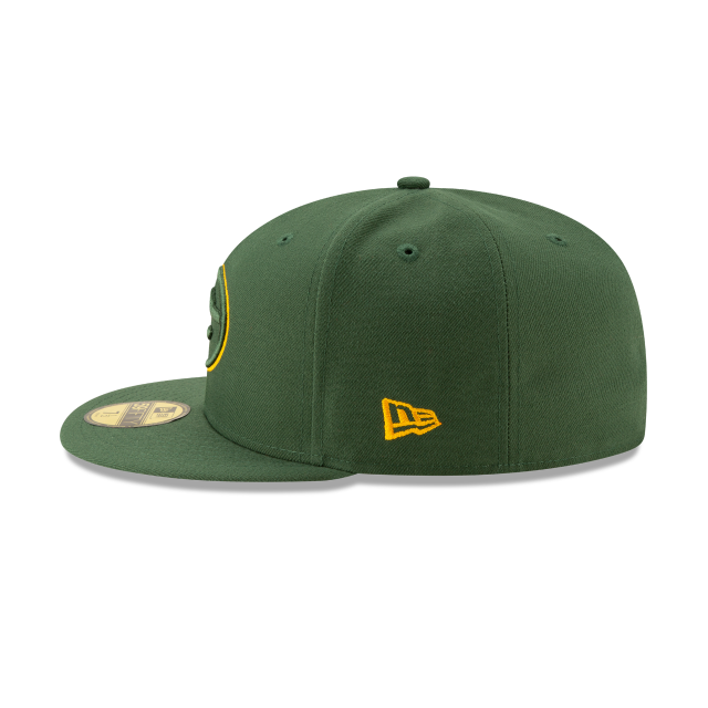 GREEN BAY PACKERS NFL LOGO ELEMENTS 59FIFTY FITTED Left side view