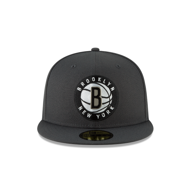 BROOKLYN NETS METAL AND THREAD 59FIFTY FITTED Front view