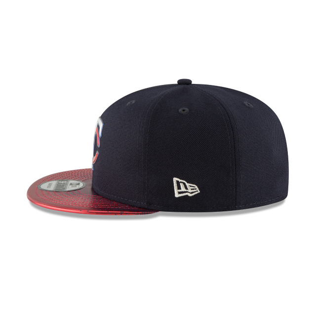 MINNESOTA TWINS TOPPS 35TH ANNIVERSARY 2018 9FIFTY SNAPBACK Left side view