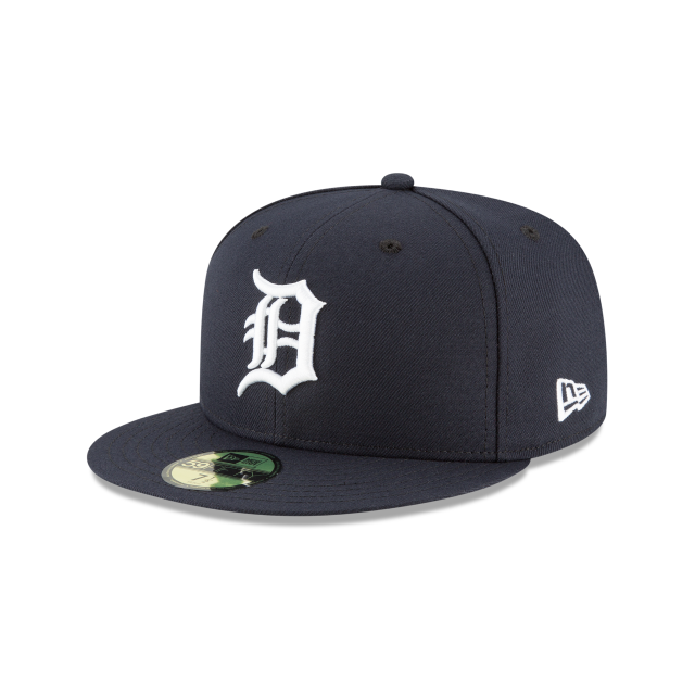 DETROIT TIGERS HOME AC 59FIFTY FITTED 3 quarter left view