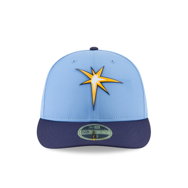 lowest price 29617 bdb71 ... switzerland tampa bay rays alternate mlb batting practice prolight low  profile 59fifty fitted front view 786a9