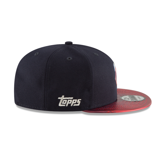 MINNESOTA TWINS TOPPS 35TH ANNIVERSARY 2018 9FIFTY SNAPBACK Right side view