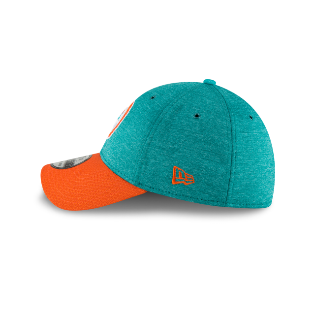 7cc8463ef MIAMI DOLPHINS CLASSIC LOGO SIDELINE HOME 39THIRTY STRETCH FIT Left side  view