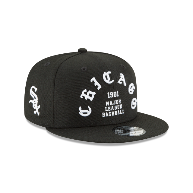 CHICAGO WHITE SOX TEAM DELUXE 9FIFTY SNAPBACK 3 quarter right view