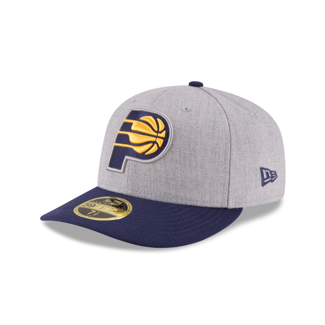 3bce9647aa8a82 ... promo code for indiana pacers heather low profile 59fifty fitted 3  quarter left view 960d9 b3c18