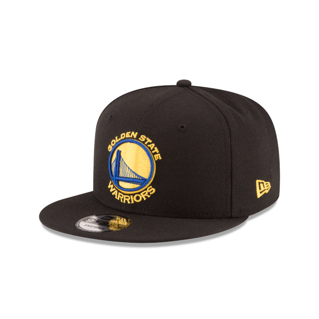 GOLDEN STATE WARRIORS TEAM COLOR 9FIFTY SNAPBACK 3 quarter left view