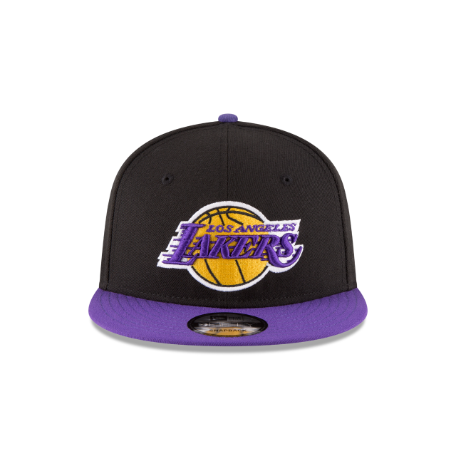LOS ANGELES LAKERS 2TONE 9FIFTY SNAPBACK Front view