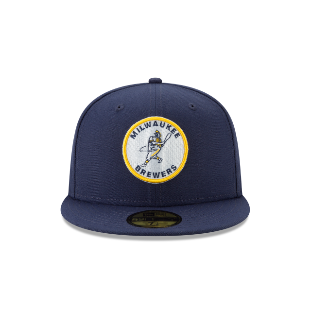 MILWAUKEE BREWERS LOGO PACK 59FIFTY FITTED Front view