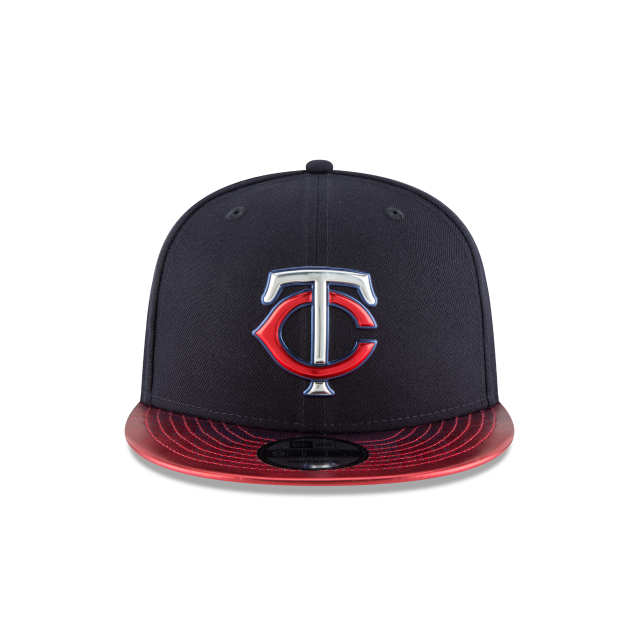 MINNESOTA TWINS TOPPS 35TH ANNIVERSARY 2018 9FIFTY SNAPBACK Front view