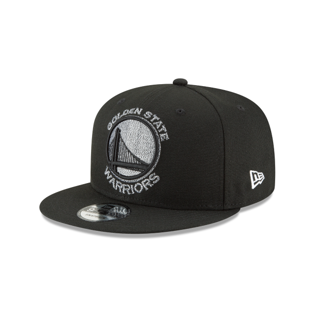 GOLDEN STATE WARRIORS SQUAD TWIST 9FIFTY SNAPBACK 3 quarter left view