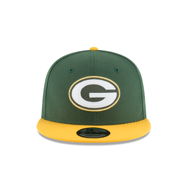 GREEN BAY PACKERS GLORY TURN 9FIFTY SNAPBACK Front view
