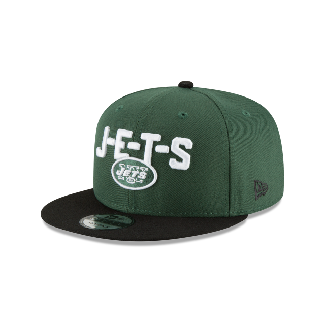 NEW YORK JETS SPOTLIGHT 9FIFTY SNAPBACK 3 quarter left view