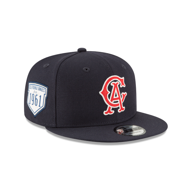 CALIFORNIA ANGELS INAUGURAL SEASON 9FIFTY SNAPBACK 3 quarter right view