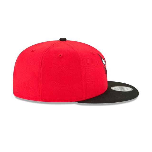 CHICAGO BULLS MELTING LOGO 9FIFTY SNAPBACK Right side view
