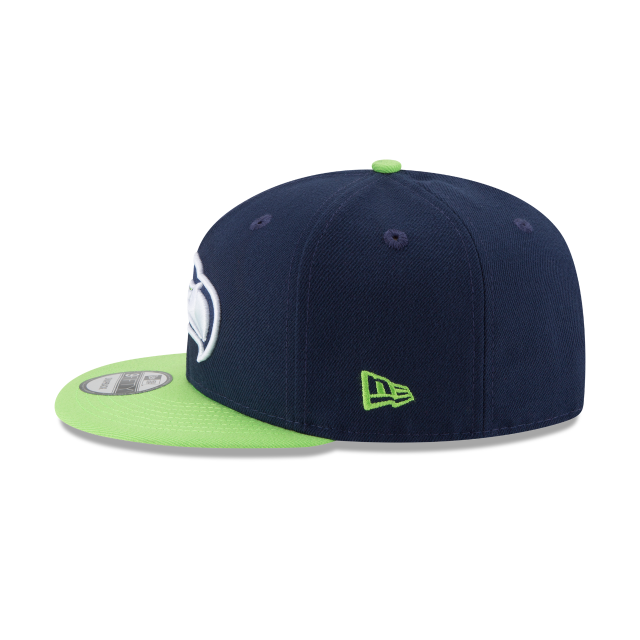 SEATTLE SEAHAWKS TEAM PATCHER 9FIFTY SNAPBACK Left side view