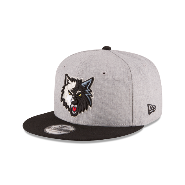 MINNESOTA TIMBERWOLVES 2TONE HEATHER 9FIFTY SNAPBACK 3 quarter left view