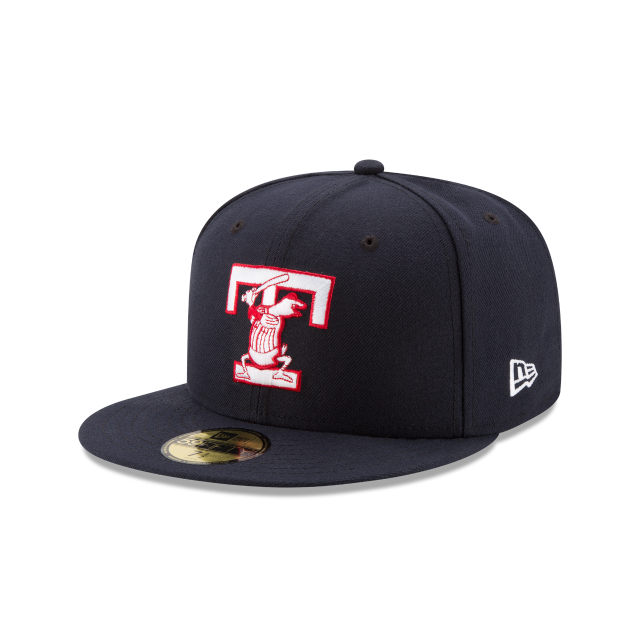 TOLEDO MUD HENS AUTHENTIC COLLECTION 59FIFTY FITTED 3 quarter left view