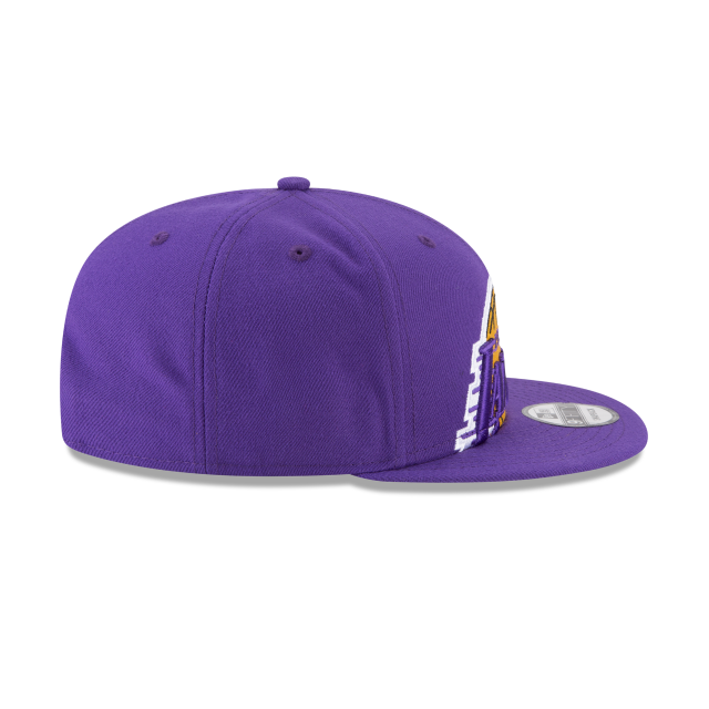 LOS ANGELES LAKERS Y2K BIG UNDER 9FIFTY SNAPBACK Right side view