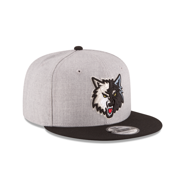 MINNESOTA TIMBERWOLVES 2TONE HEATHER 9FIFTY SNAPBACK 3 quarter right view