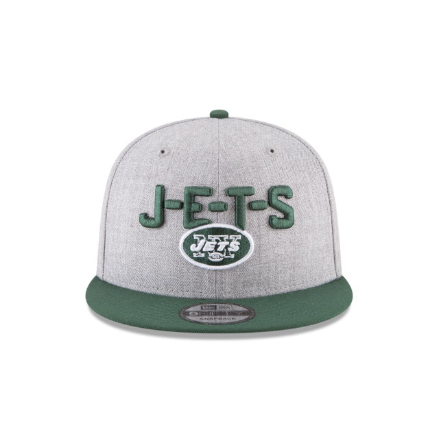 NEW YORK JETS NFL DRAFT 9FIFTY SNAPBACK Front view