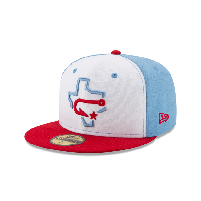 CORPUS CRISTI HOOKS AUTHENTIC COLLECTION 59FIFTY FITTED 3 quarter left view