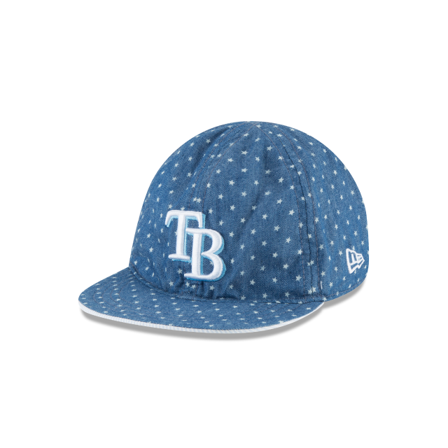 TAMPA BAY RAYS DENIM FLIP KIDS 9TWENTY ADJUSTABLE 3 quarter left view