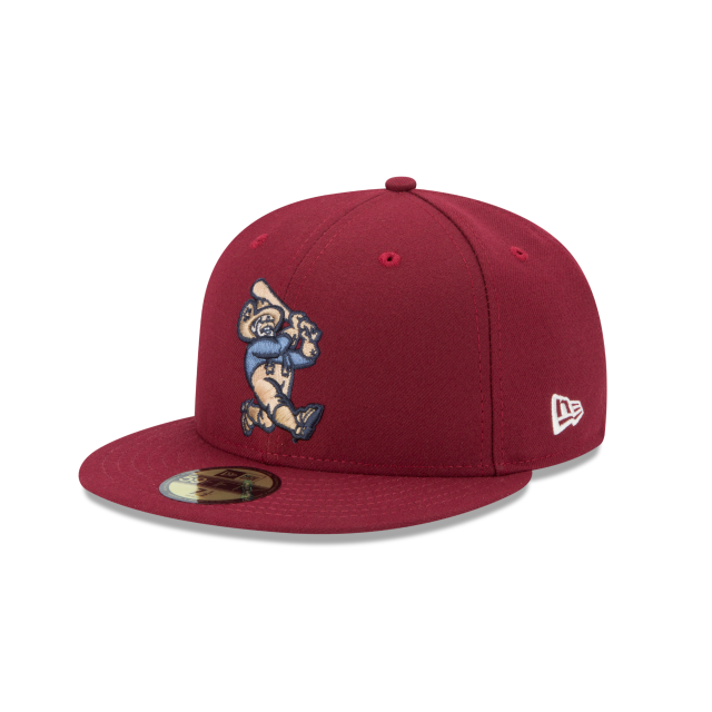 FRISCO ROUGH RIDERS AUTHENTIC COLLECTION 59FIFTY FITTED 3 quarter left view