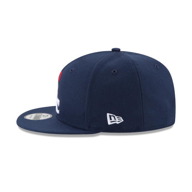 WASHINGTON WIZARDS TEAM COLOR 9FIFTY SNAPBACK Left side view