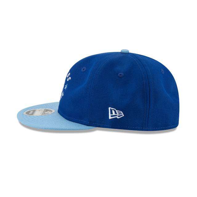 KANSAS CITY ROYALS SANDLOT LND RETRO CROWN 9FIFTY SNAPBACK Left side view