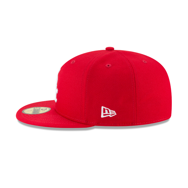 CHICAGO WHITE SOX SCARLET BASIC 59FIFTY FITTED Left side view