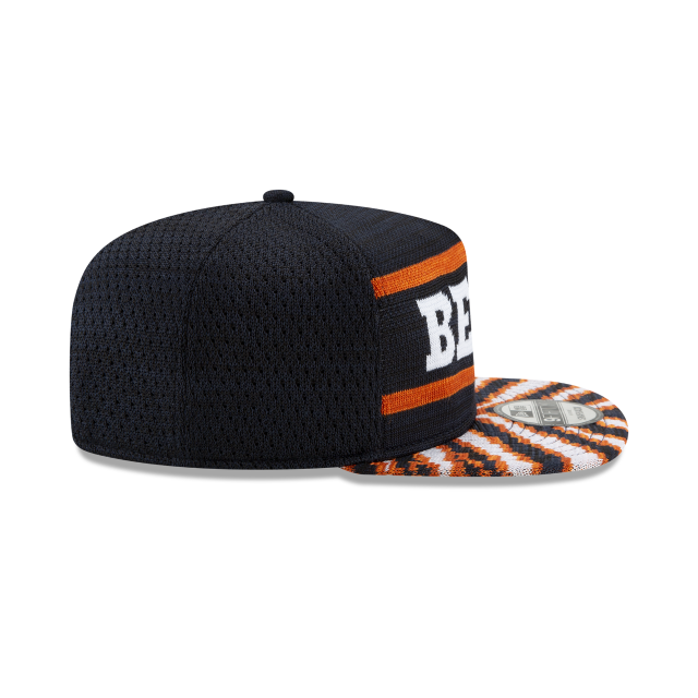 CHICAGO BEARS FRESH FRONT ZUBAZ 9FIFTY SNAPBACK Right side view