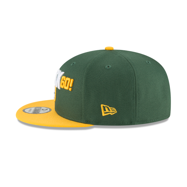 GREEN BAY PACKERS SPOTLIGHT 9FIFTY SNAPBACK Left side view