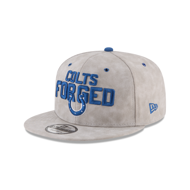 INDIANAPOLIS COLTS SPOTLIGHT PREMIUM 9FIFTY SNAPBACK 3 quarter left view