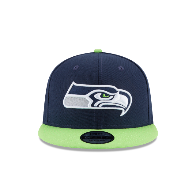 SEATTLE SEAHAWKS TEAM PATCHER 9FIFTY SNAPBACK Front view