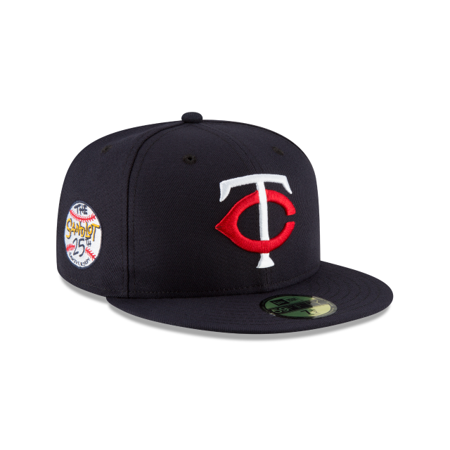 MINNESOTA TWINS SANDLOT 25TH ANNIVERSARY 59FIFTY FITTED 3 quarter right view