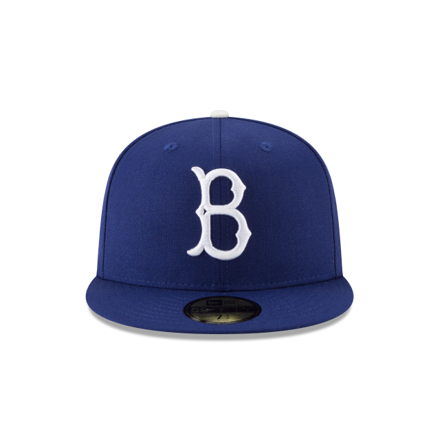 BROOKLYN DODGERS 1955 WORLD SERIES SIDE PATCH 59FIFTY FITTED Front view