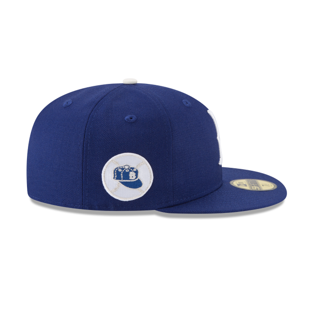 BROOKLYN DODGERS 1955 WORLD SERIES SIDE PATCH 59FIFTY FITTED Right side view