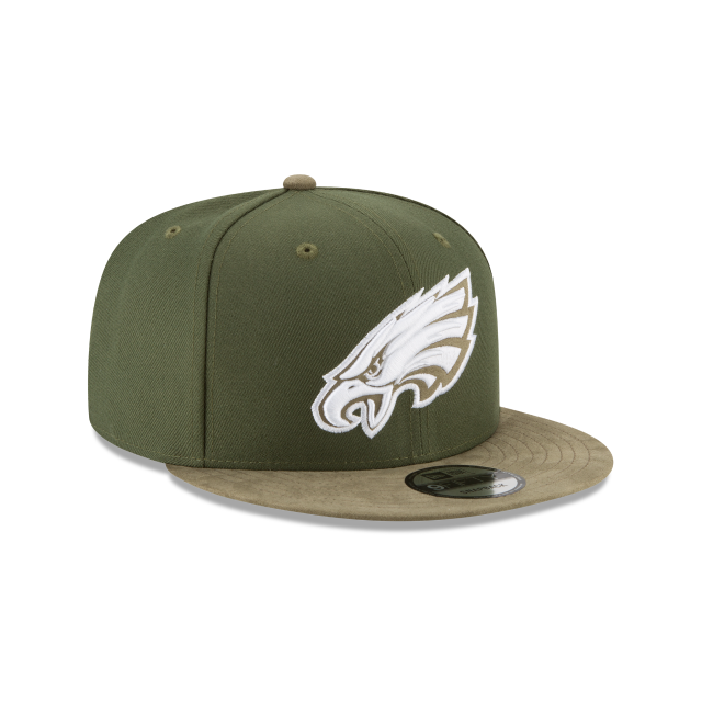 PHILADELPHIA EAGLES TONAL CHOICE GREEN 9FIFTY SNAPBACK 3 quarter right view
