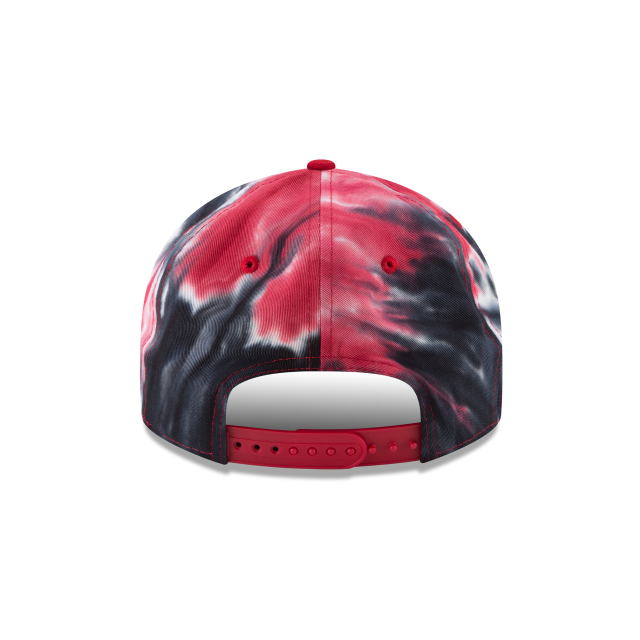SAN FRANCISCO 49ERS MARBLED RETRO CROWN 9FIFTY SNAPBACK Rear view
