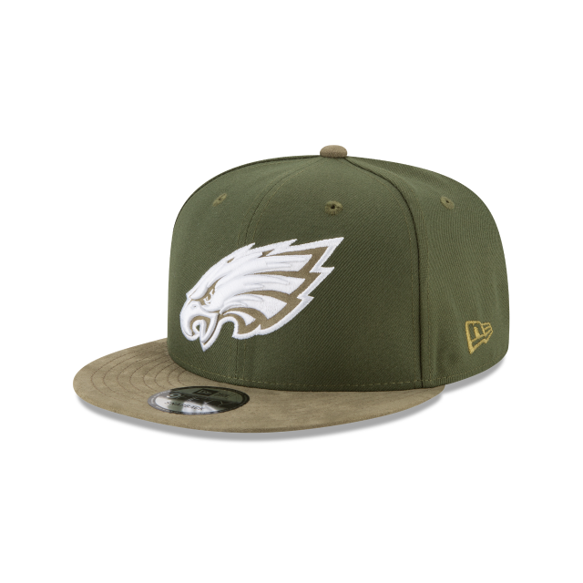 PHILADELPHIA EAGLES TONAL CHOICE GREEN 9FIFTY SNAPBACK 3 quarter left view