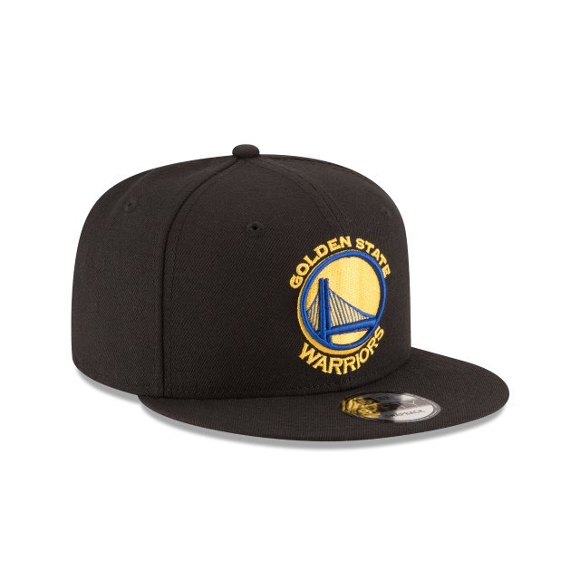 GOLDEN STATE WARRIORS TEAM COLOR 9FIFTY SNAPBACK 3 quarter right view