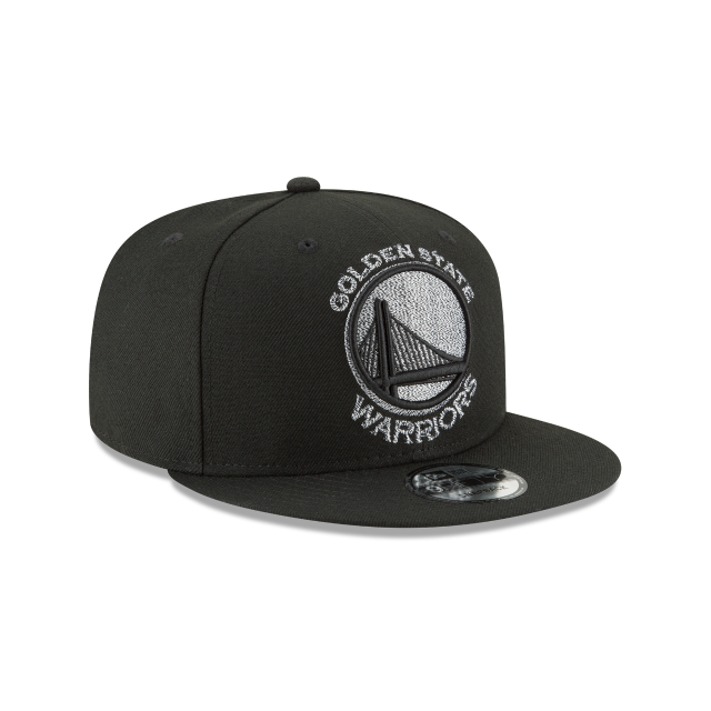 GOLDEN STATE WARRIORS SQUAD TWIST 9FIFTY SNAPBACK 3 quarter right view