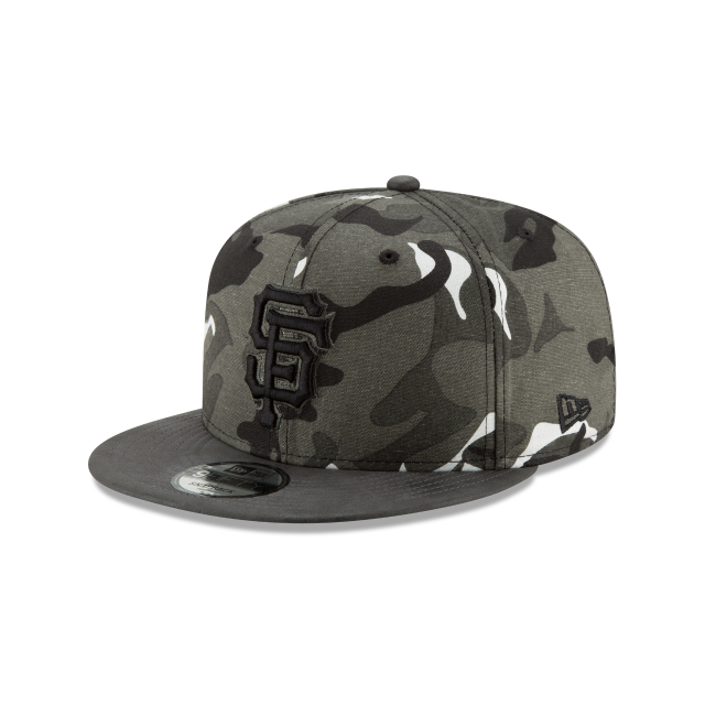 SAN FRANCISCO GIANTS SUEDED UP CAMO 9FIFTY SNAPBACK 3 quarter left view