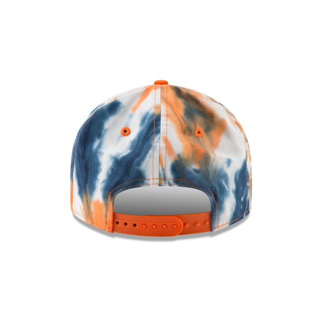 DENVER BRONCOS MARBLED RETRO CROWN 9FIFTY SNAPBACK Rear view