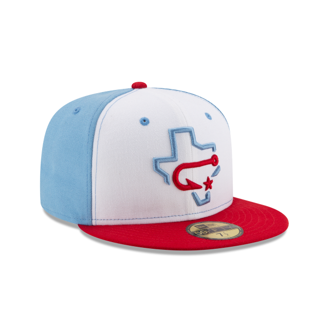 CORPUS CRISTI HOOKS AUTHENTIC COLLECTION 59FIFTY FITTED 3 quarter right view