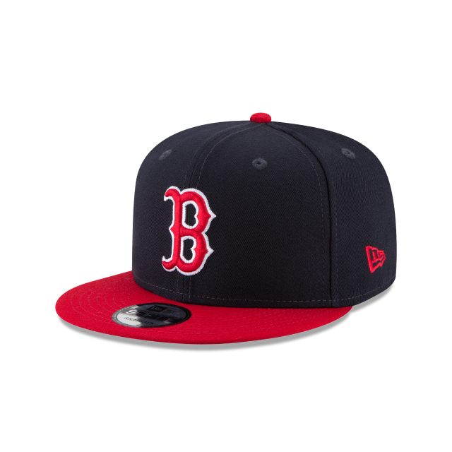 BOSTON RED SOX TEAM PATCHER 9FIFTY SNAPBACK 3 quarter left view