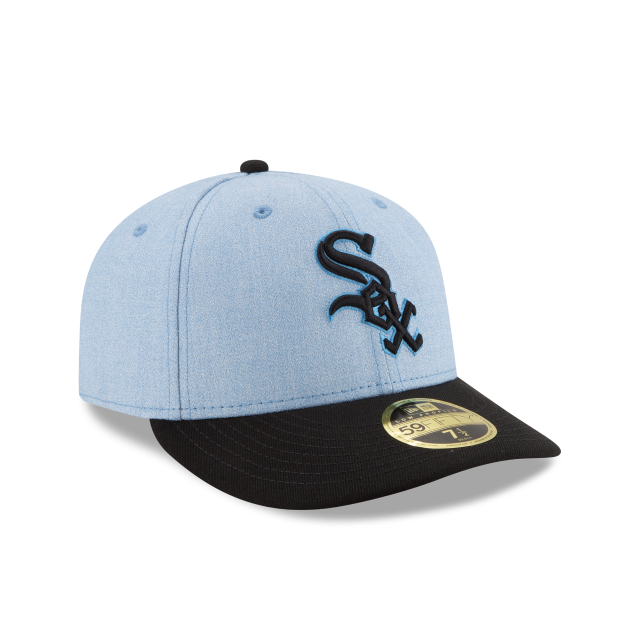 CHICAGO WHITE SOX FATHERS DAY LOW PROFILE 59FIFTY FITTED 3 quarter right view