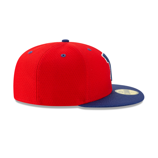 PHILADELPHIA PHILLIES BATTING PRACTICE 59FIFTY FITTED Right side view